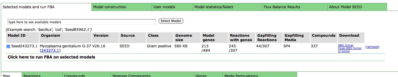 General Model Info